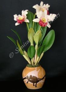 Cattleya #18, 19 x 9 inches, $195