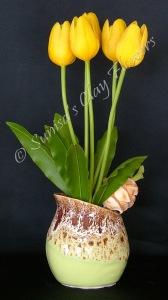 Tulip #01, 13 x 8 inches, $65