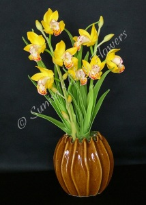 Cymbidium #07, 13 x 8 inches, $70